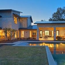 Contemporary Exterior by Bulhon Design Associates