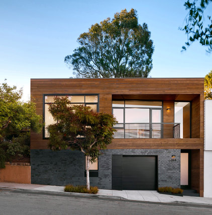 Contemporary Exterior by Cary Bernstein Architect