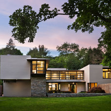Contemporary Exterior by Doyle Herman Design Associates