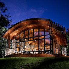 Rustic Exterior Contemporary Exterior