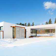 Contemporary Exterior by LABhaus