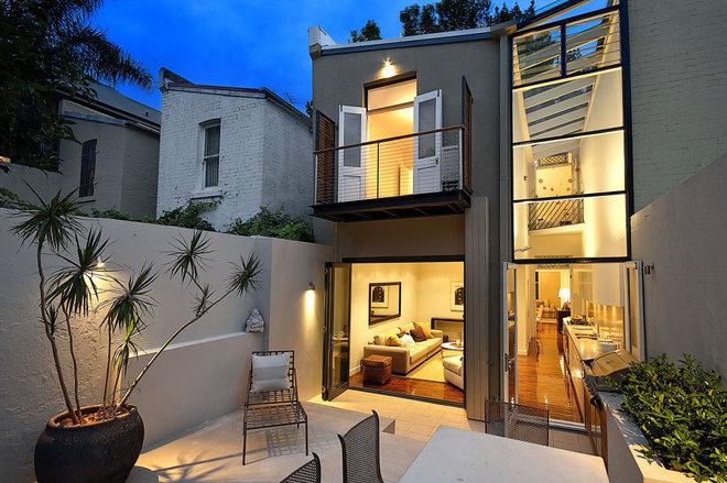 Contemporary Exterior by ORBIS design