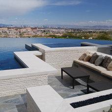 Contemporary Exterior by Laguna Pool & Spa