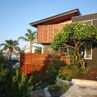Inspiration för mellanstora moderna hus