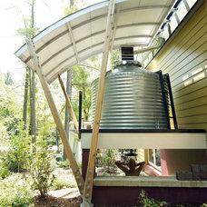 Contemporary Exterior by Meadowlark Builders