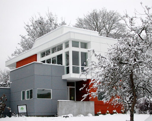 Contemporary exterior finishes home design ideas for Exterior finishes for homes