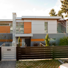 Contemporary Exterior by Tanya Schoenroth Design