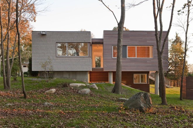 Contemporary Exterior by Ruhl Walker Architects