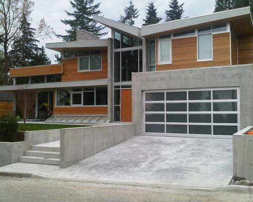... Glass Garage Door Home Design Ideas, Pictures, Remodel and Decor