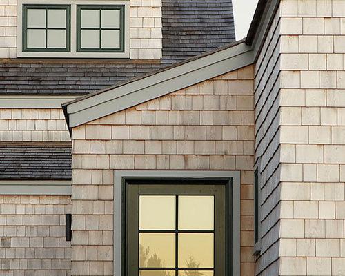 Outside Window Frame Design : Green Window Frames Home Design Ideas, Renovations & Photos