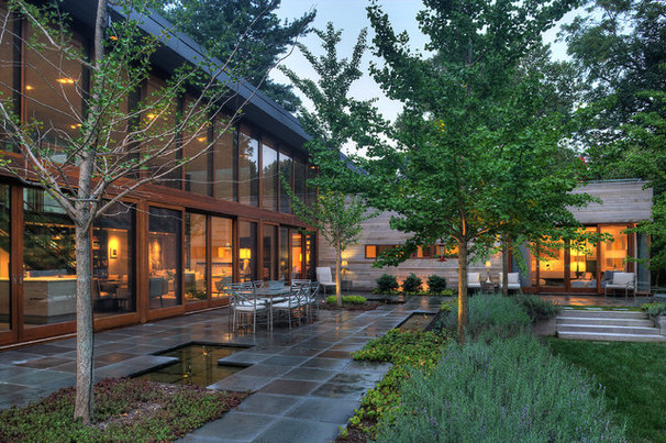 Contemporary Exterior by Ziger/Snead Architects