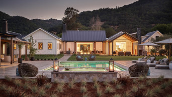 Contemporary Farmhouse New Construction (Hoffman-Yountville, Napa)