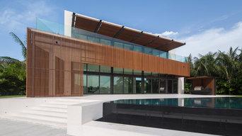Contemporary FL custom home, Silberstein Architects