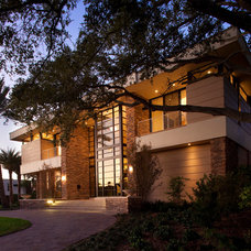 Contemporary Exterior by FleischmanGarcia Architecture