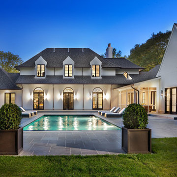 Contemporary French Country Home