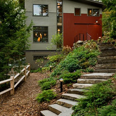Contemporary Exterior by Smith & Vansant Architects PC