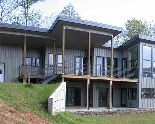 Foto e idee per facciate di case facciata di una casa for Piani di casa stile cracker florida