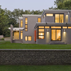 Contemporary Exterior by JALIN Design, LLC