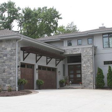 Contemporary Lake Home
