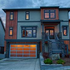 Contemporary Exterior by Signature Custom Homes