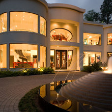 Contemporary Exterior by Exterior Worlds Landscaping & Design