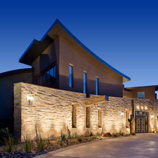 Contemporary Exterior by Merlin Contracting & Developing, llc