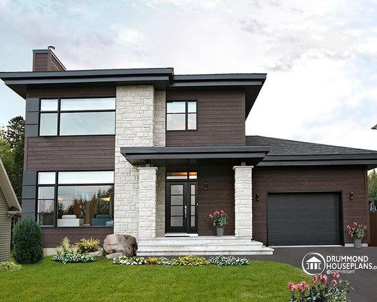 contemporary house plans | houzz