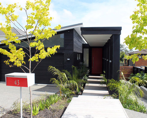 Exterior House Colors Contemporary | Houzz