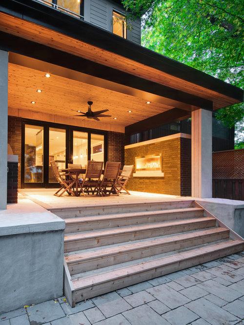 schwarze h user mit backsteinfassade ideen f r die fassadengestaltung houzz. Black Bedroom Furniture Sets. Home Design Ideas