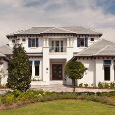 Contemporary Exterior by Weber Design Group, Inc.
