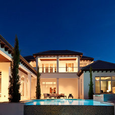 Contemporary Exterior by Weber Design Group, Inc.