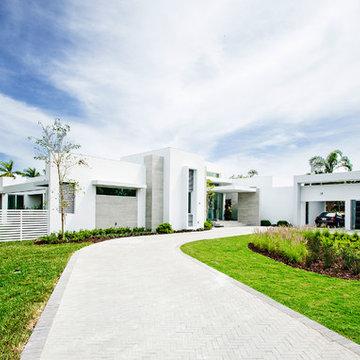 Contemporary Pinecrest Home