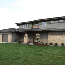 Traditional Exterior by R Henry Construction Inc.