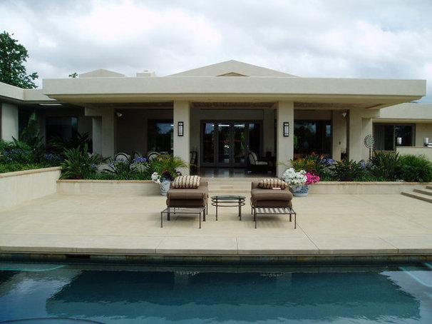 Contemporary Exterior by The Design Build Company