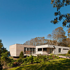 Contemporary Exterior by GILMAN GUIDELLI
