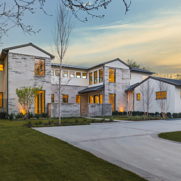 Crisp Contemporary Spec Home