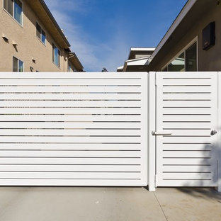 Contemporary steel gates