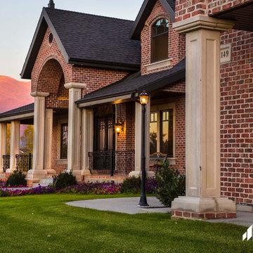 Contemporary Utah Brick Home