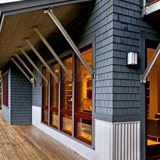 Beautiful Contemporary Exterior Home Idea In Burlington