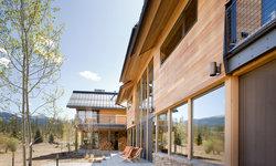 Continental Divide - Colorado  Modern Mountain Home Exterior