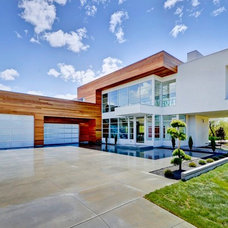 Contemporary Exterior by Trey Hoff Architecture