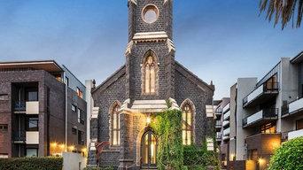 Conversion of old Wesleyan Methodist Church St.Kilda Victoria