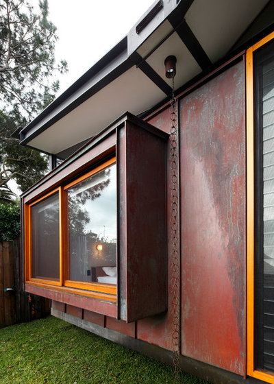 Contemporary Exterior by Zeitgeist Photography