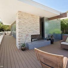 Contemporary Exterior by CG&S Design-Build