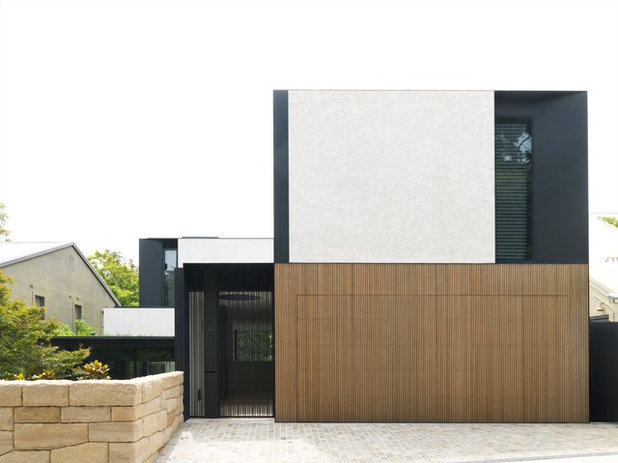 Contemporary Exterior by Tobias Partners