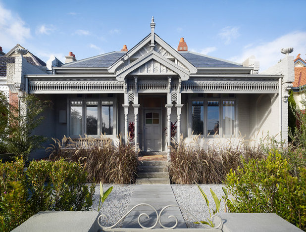 Victorian Exterior by Coy Yiontis Architects
