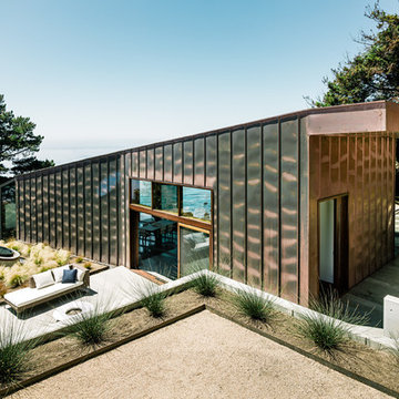Copper cladding exterior