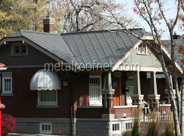 Traditional Exterior by Metal Roof Network