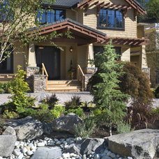 Craftsman Exterior by Alan Mascord Design Associates Inc