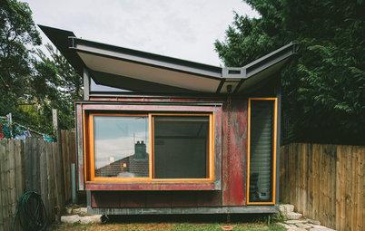 Houzz Tour: Beach Shack Reborn as a Copper-Clad Cottage